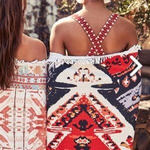 🏖 Skova Boho Beach Towel Rachel Zoe Box of StyleNWT for sale